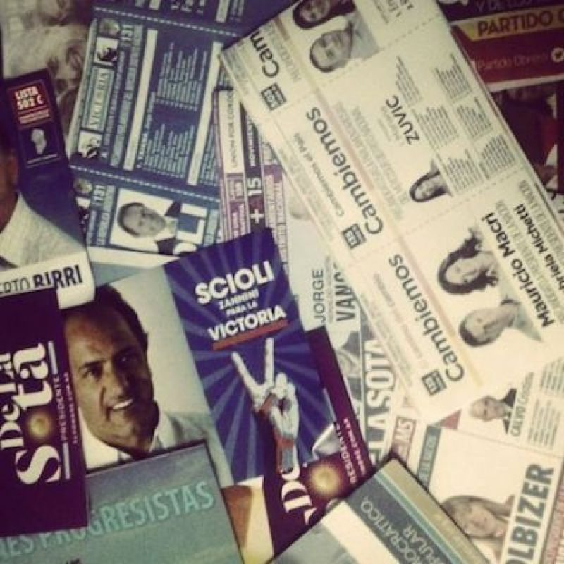 Foto: https://instagram.com/explore/tags/elecciones2015/