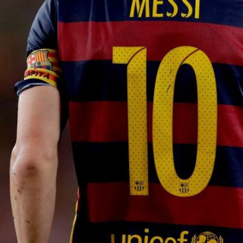 Lionel Messi tuvo un gran gesto solidario con una campaña de la UNICEF en Argentina. Foto:Getty Images