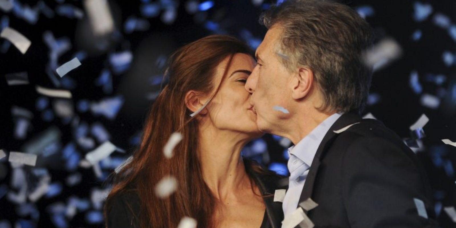 Mauricio Macri, de la oposición, se convirtió en el segundo más votado Foto:AP