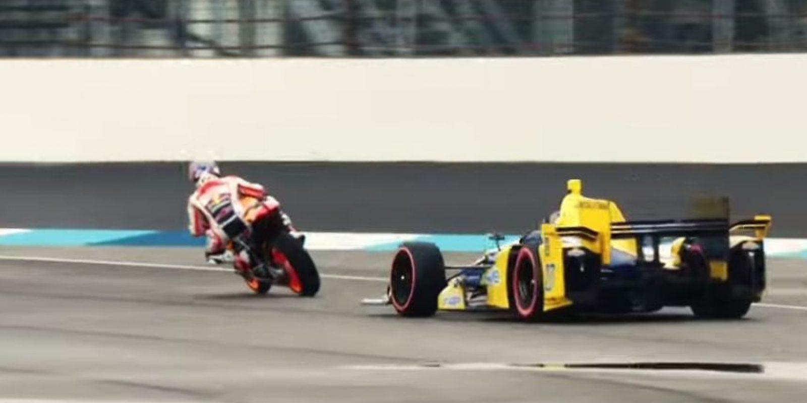 La moto era más rápida en las curvas. Foto:MotoGP