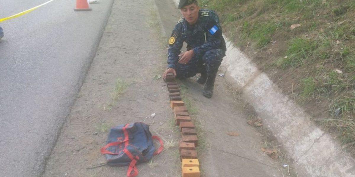 Explosivo abandonado en Villa Nueva podría destruir 14 vehículos