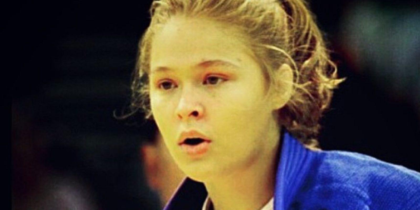 Así lucía a los 17 años en los Juegos Olímpicos de Atenas 2004 Foto:Getty Images