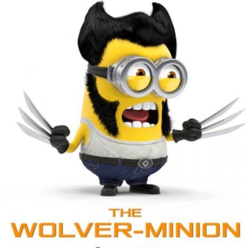 """Hugh Jackman como """"Wolverine"""" Foto:vía facebook.com/DarrenWallaceDigitalArtist"""