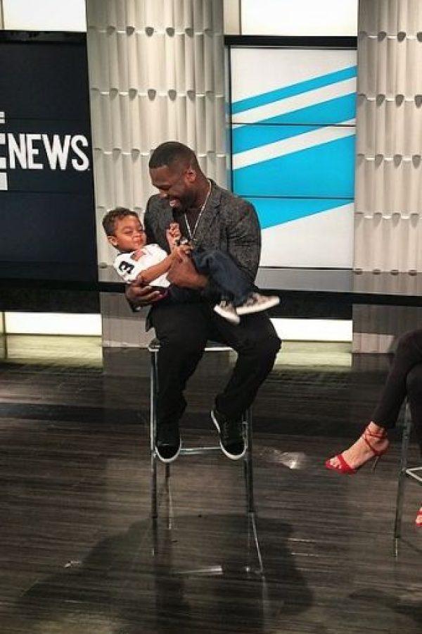 Pero con el pequeño Sire Jackson, solo hay risas y muchos cariños paternales. Foto:vía instagram.com/50cent