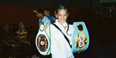 """6. Amanda Serrano. La boxeadora puertorriqueña la retó a una pelea. """"Podemos pelear en el patio de su casa, si ella quiere"""", indicó Foto:Wikipedia"""