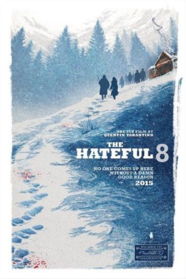 """""""The Hateful Eight"""" narrará la historia de ocho peligrosas personas que terminarán cruzando sus caminos. Foto:IMDb"""