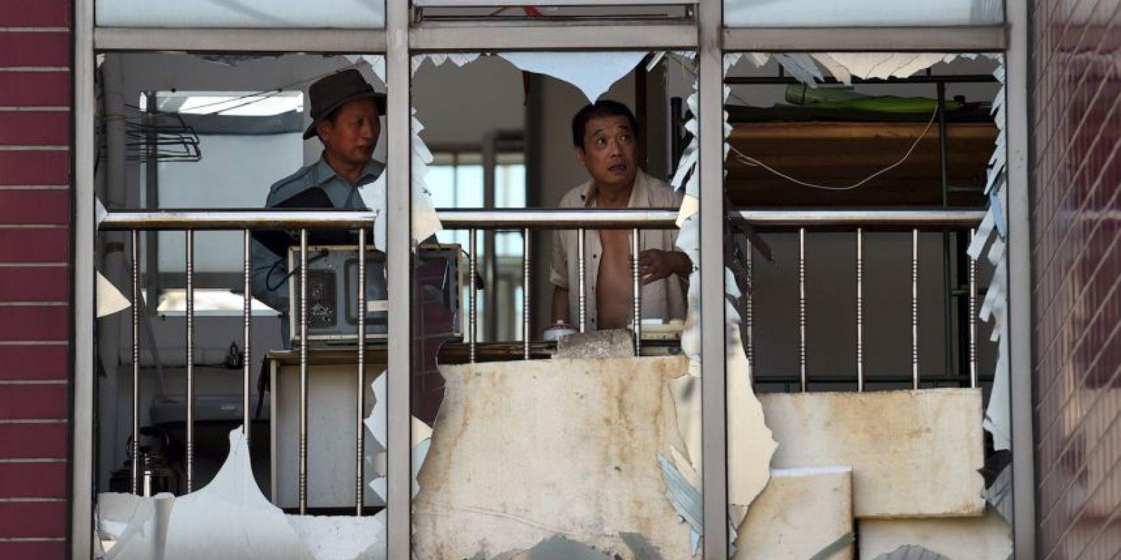 Más de 6 mil personas continúan evacuadas tras el accidente, según el Ayuntamiento de Tianjin Foto:AFP