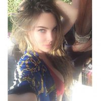 """Finalmente, esto fue lo que ella declaró en una entrevista con el programa mexicano """"HOY"""". Foto:Instagram/Belindapop"""