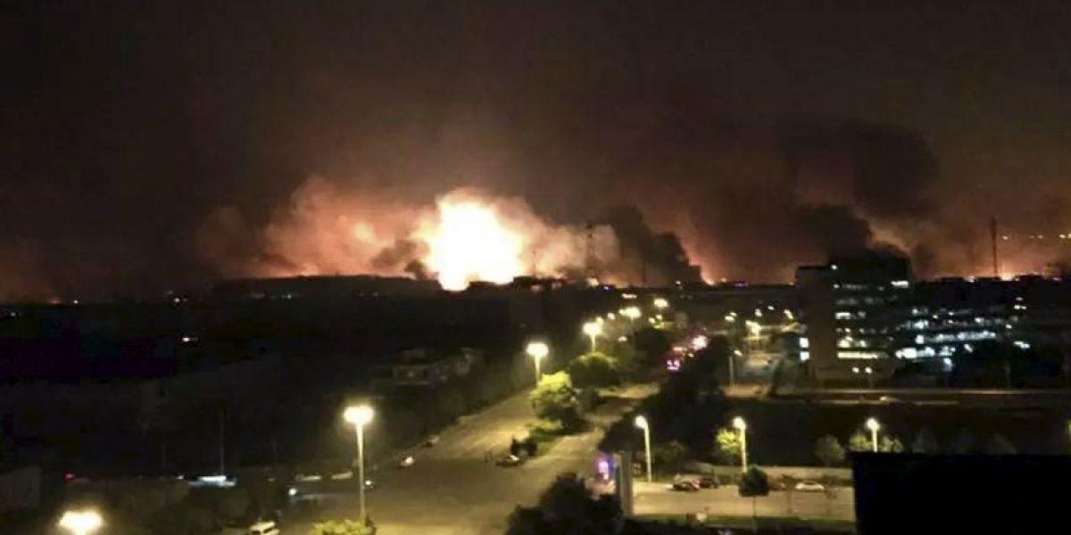 Video: Sincronizan 6 diferentes ángulos de la explosión en Tianjin