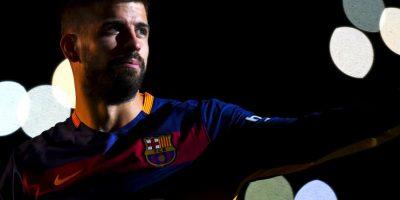 Gerard Piqué no olvidó a su acérrimo rival en el último título que cosechó el Barça Foto:Getty Images