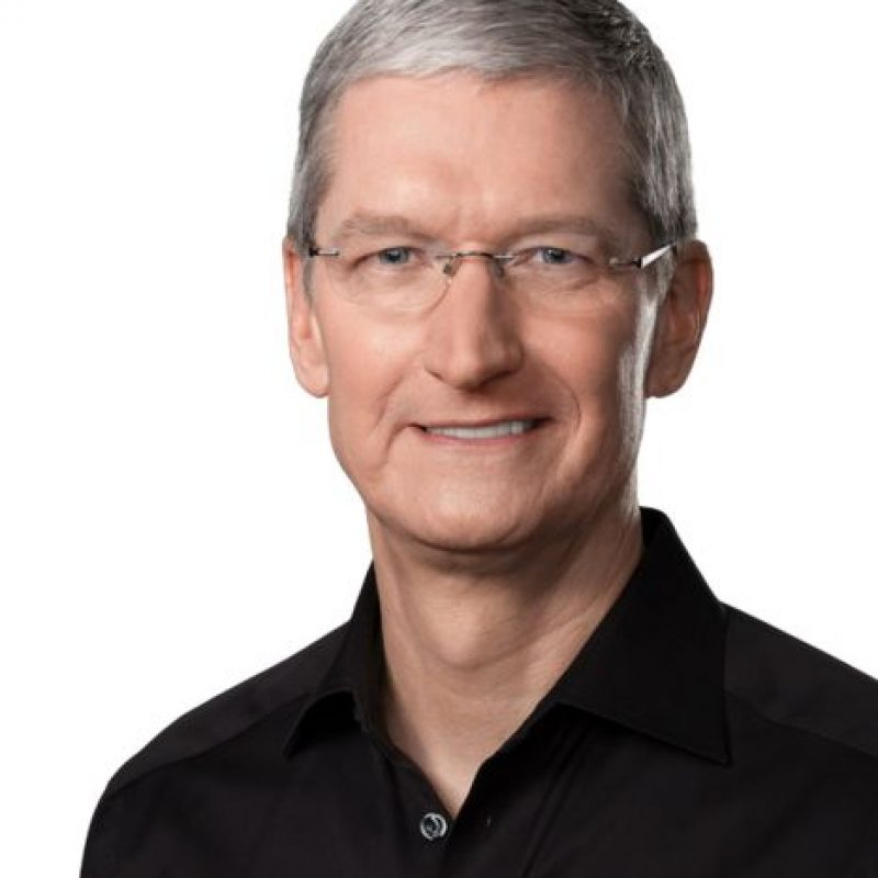 Timothy D. Cook, más conocido como Tim Cook Foto: Wikicommons