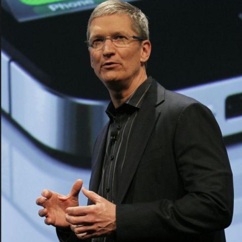 Antes de ser CEO de Apple trabajó en IBM durante 12 años Foto:Getty Images