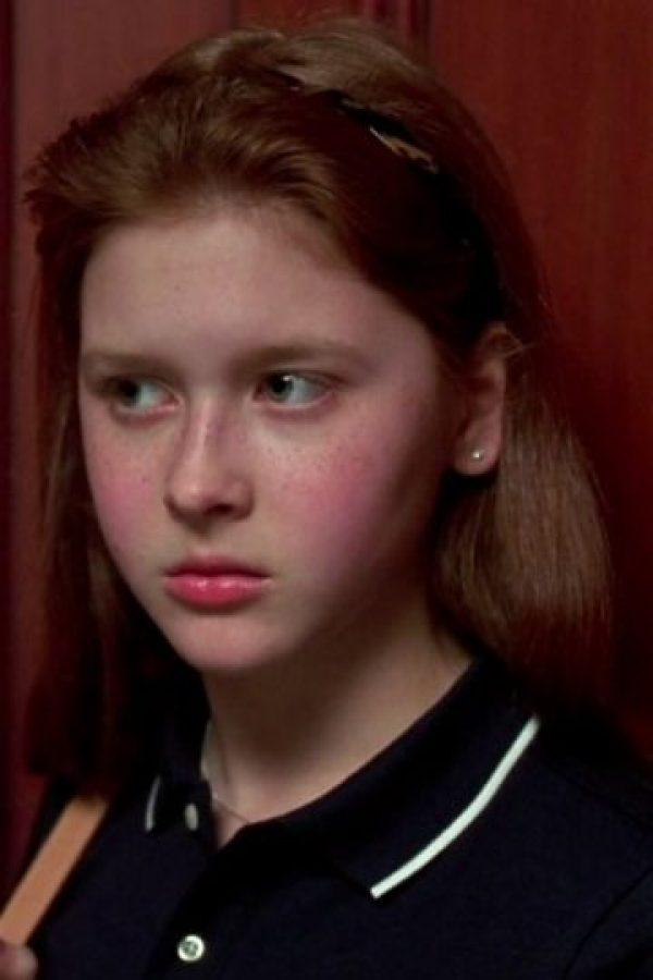"""Interpretó a """"Becky"""", la amiga de la """"Genna"""" mayor Foto:vía childstarlets.com"""