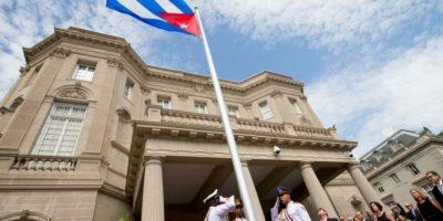 El 20 de julio la embajada de Cuba se reabre en Estados Unidos. Foto:AP