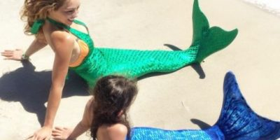 Fotos: Thalía cumple el sueño de su hija de ser sirena