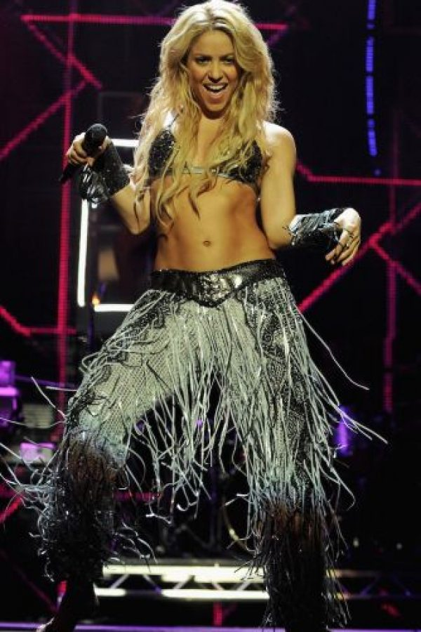 Y no hay que olvidar que esta hermosa colombiana cantó junto a dos sensuales estrellas de la música: Beyonce y Rihanna. Foto:Getty Images