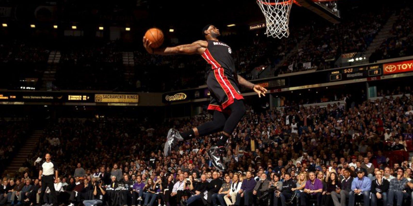 Es el jugador más dominante de la NBA en la actualidad Foto:Getty Images