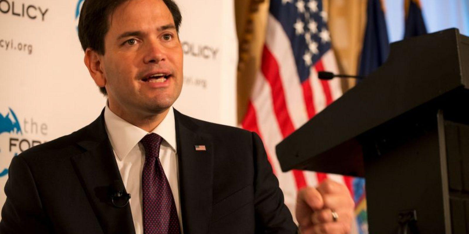 Aseguró que en caso de llegar a la presidencia echará para atrás el acercamiento con Cuba