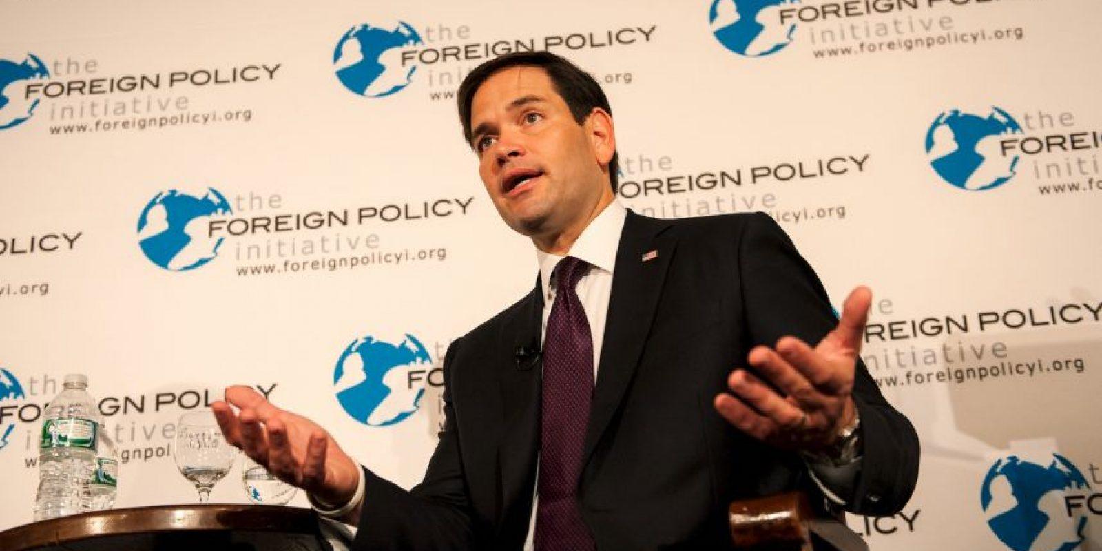 Marco Rubio, precandidato republicano a la presidencia de Estados Unidos Foto:Getty Images