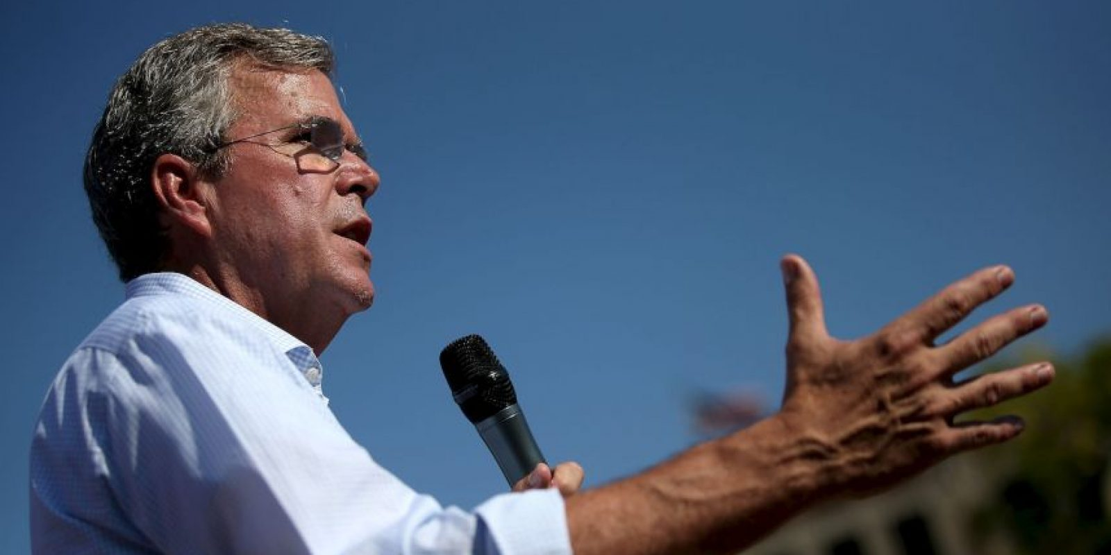 Jeb Bush, precandidato republicano a la presidencia de Estados Unidos Foto: Getty Images