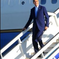 El Secretario de Estado, John Kerry, fue el encargado de llevar a cabo la ceremonia de la reapertura de la embajada de EU en Cuba Foto:Getty Images