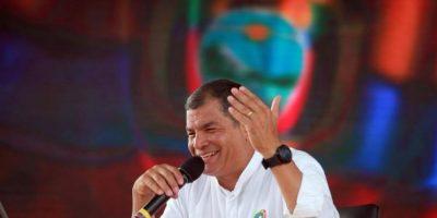 Rafael Correa, presidente de Ecuador Foto:Getty Images