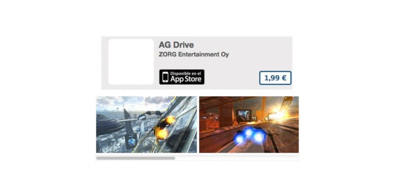 AG Drive es un juego de carreras futurista con excelentes gráficos. Precio 3 dólares Foto:De ZORG