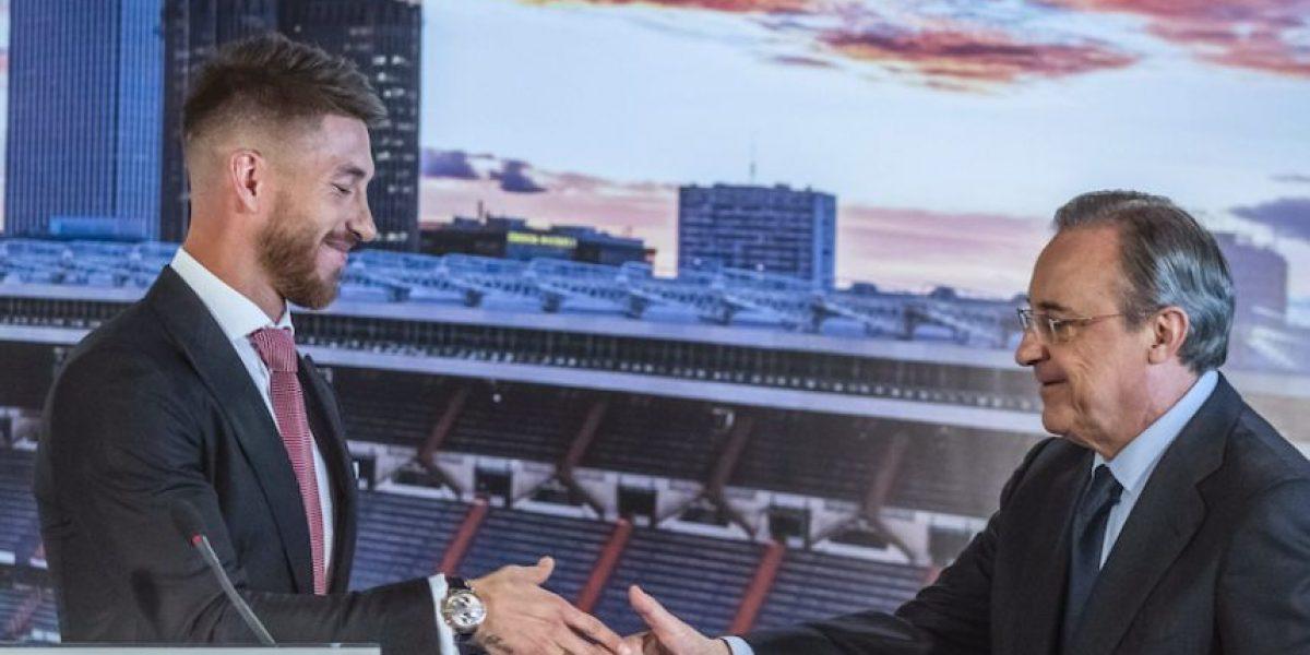Así reaccionaron los futbolistas ante la millonaria renovación de Sergio Ramos