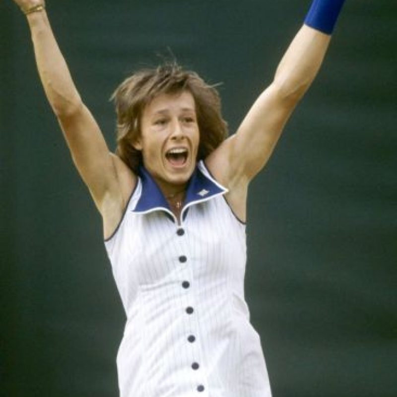 3. Martina Navratilova (Tenis) Foto: Getty Images