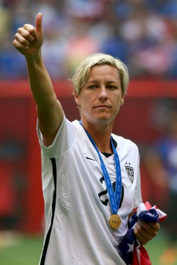 5. Abby Wambach (Fútbol) Foto: Getty Images