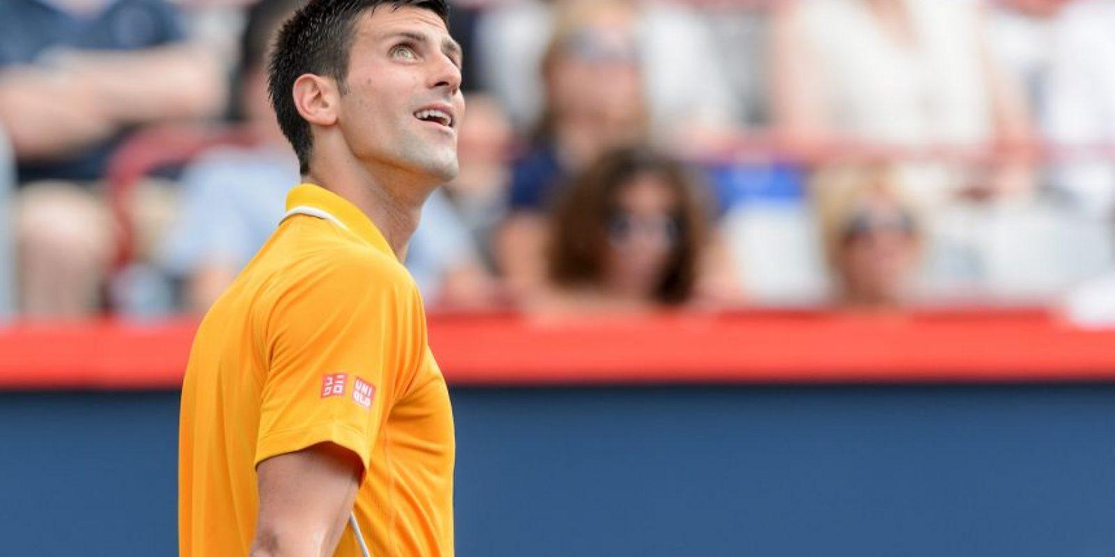Sucedió en el partido contra Jeremy Chardy, en las semifinales del Masters 1000 de Montreal Foto:Getty Images