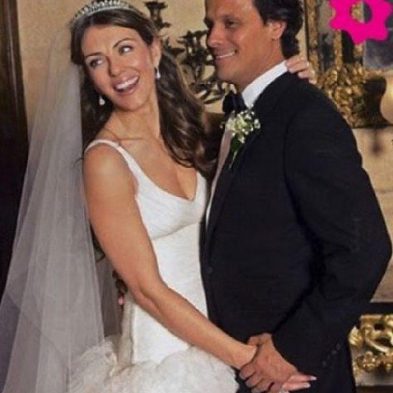 Elizabeth Hurley y Arun Nayar gastaron dos millones y medio de dólares. Foto:Vía bodas.net