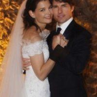 Tom Cruise y Katie Holmes gastaron 2 millones de dólares Foto:Getty Images