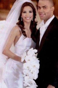 Eva Longoria y Tony Parker gastaron un millón y medio de dólares Foto: Vía mariagesdestars.skyrock.com