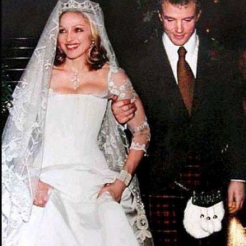 Madonna y Guy Ritchie gastaron un millón y medio de dólares Foto:Vía bodaestilo.com