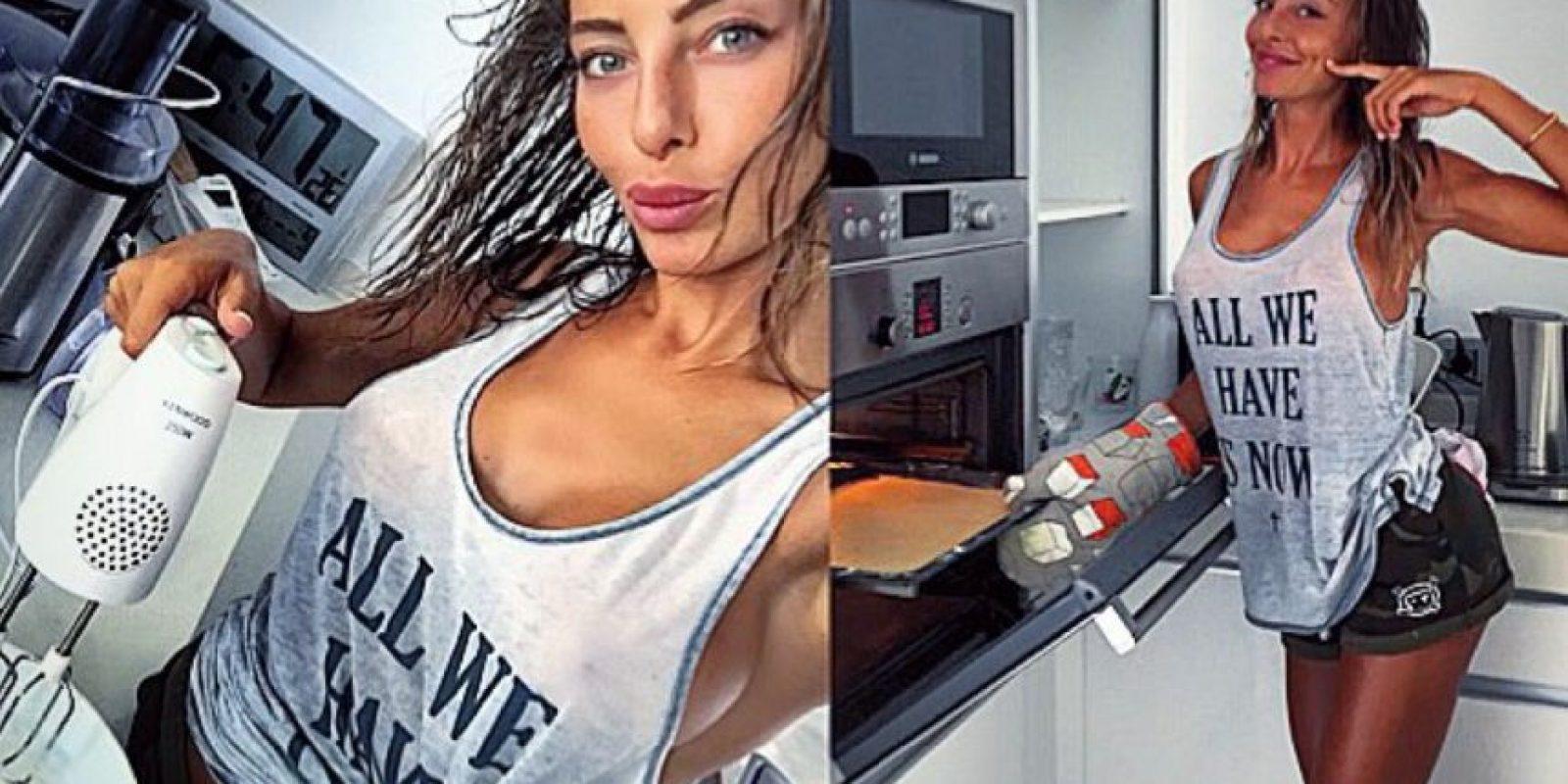 Se rumoró que salió con la modelo italiana en mayo pasado Foto:Vía instagram.com/alessiatedeschi91