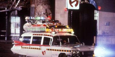 """Este es el auto que """"Los Cazafantasmas"""" utilizaron en 1984 Foto:IMDb"""