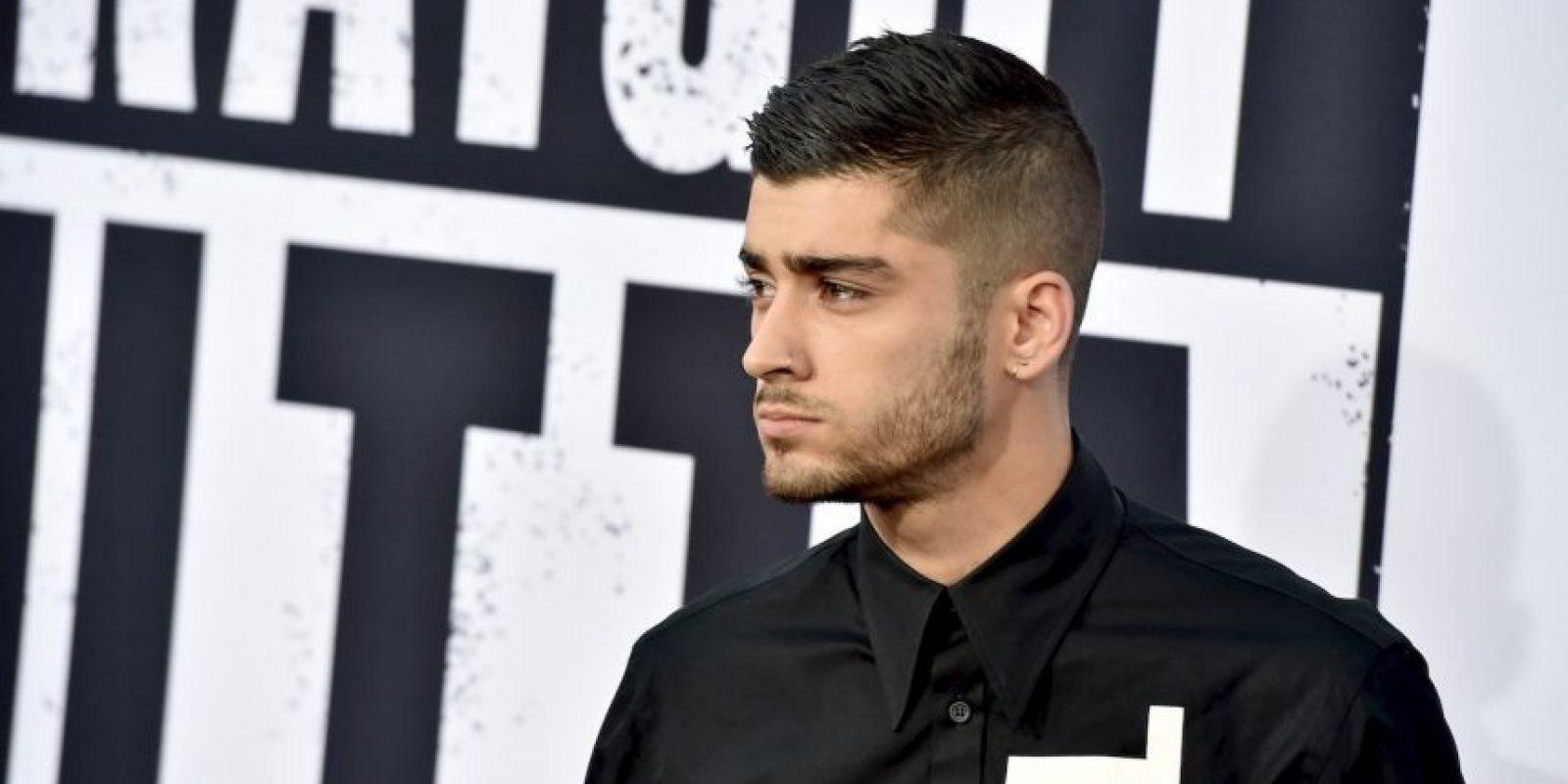 Pues ya cuenta con un gran número de fans y un respaldo de su talento vocal como exintegrante de One Direction. Foto:Getty Images