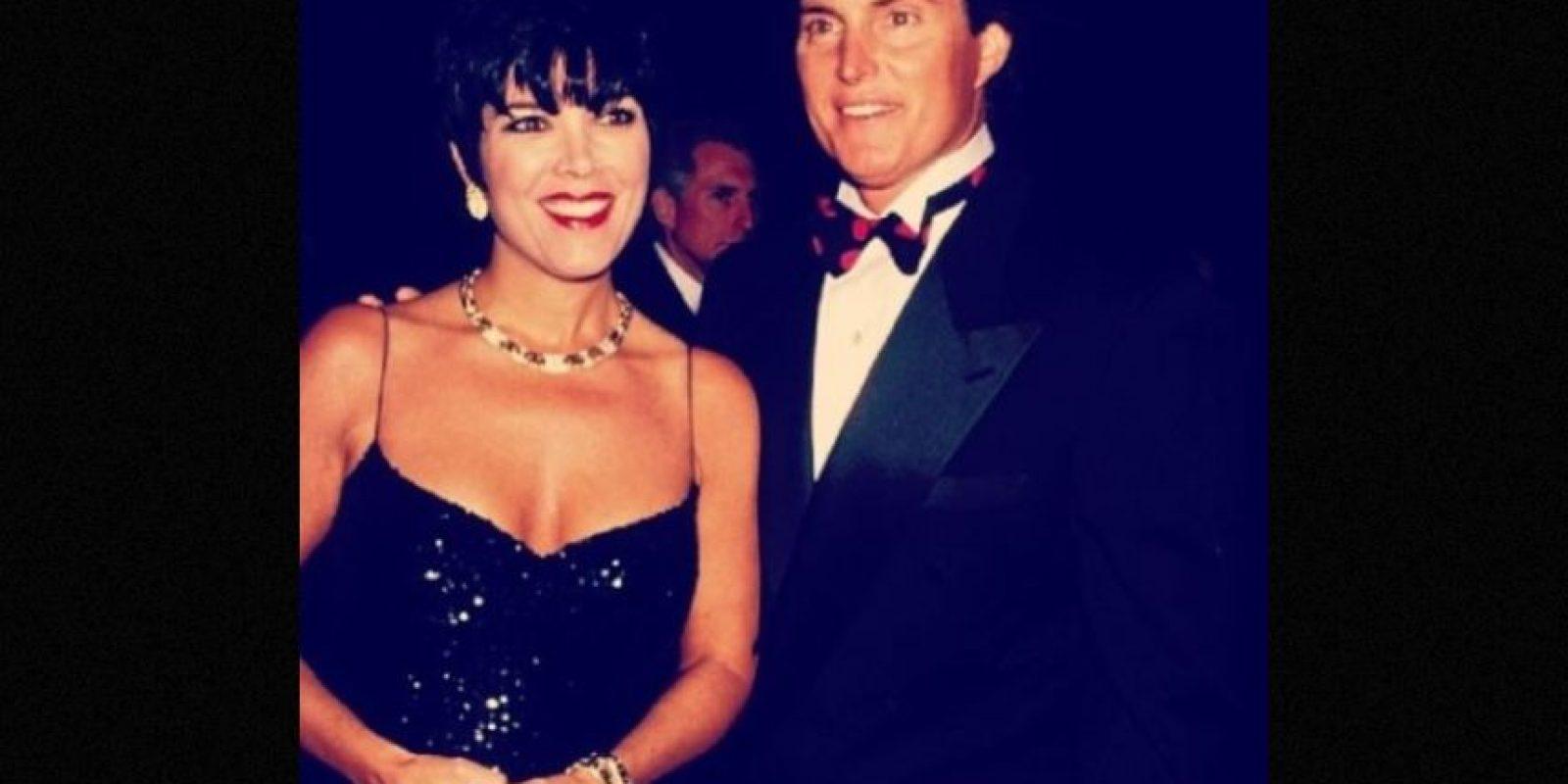 Kris y Caitlyn, anteriormente conocido como Bruce, se casaron en 1991. Foto:Instagram/KrisJenner
