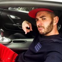 2. Karim Benzema. Foto:Vía instagram.com/karimbenzema