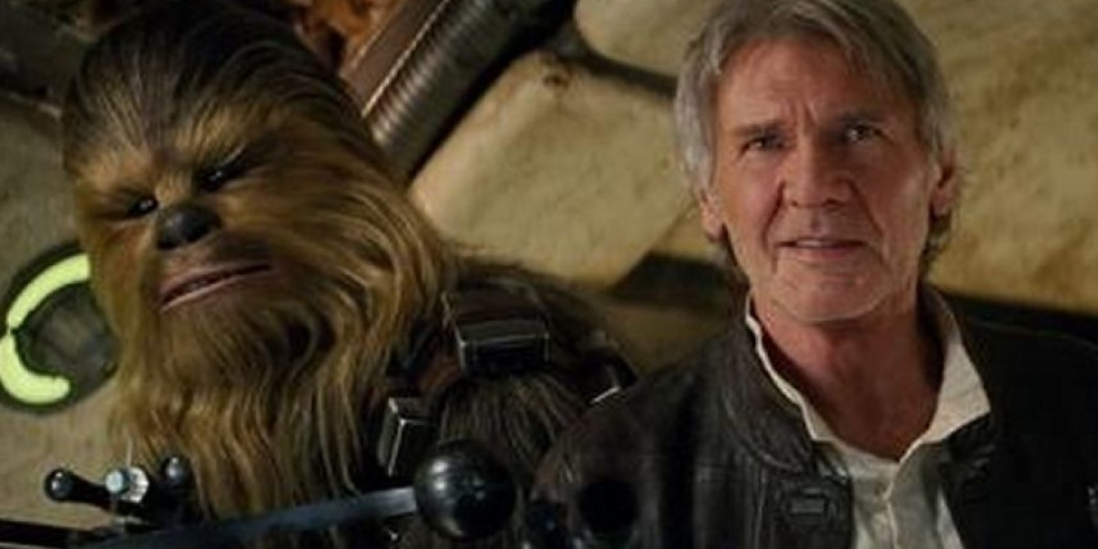 Han Solo y Chewbacca. Foto:Lucasfilm