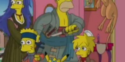 """""""Los Simpson"""" en modo anime Foto:FOX"""