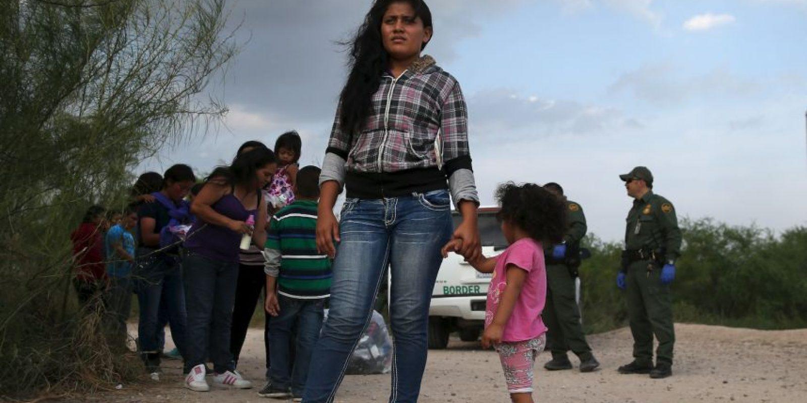 """""""Cualquier plan migratorio debe mejorar los trabajos, los salarios y la seguridad de los estadounidenses"""", añadió. Foto:Getty Images"""