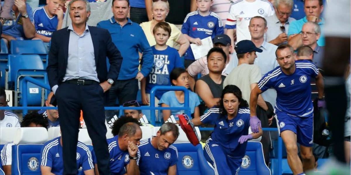 Las casas de apuestas tienen en la mira a José Mourinho