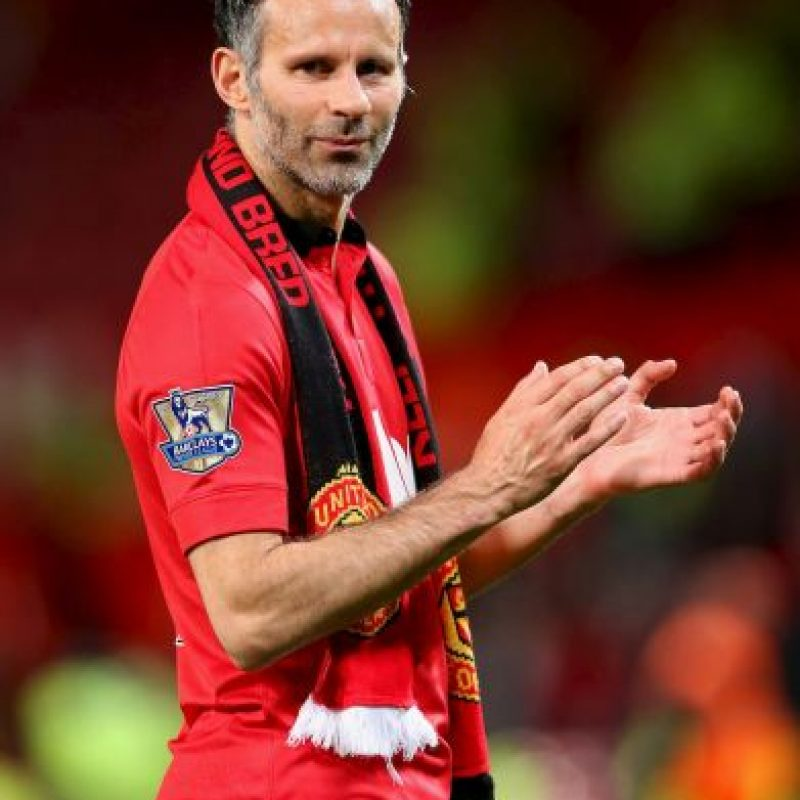 6. Ryan Giggs Foto: Getty Images