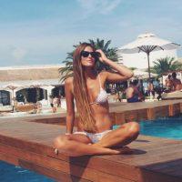 Es novia de Adrián González, del Eibar. Foto:Vía instagram.com/__natinat__