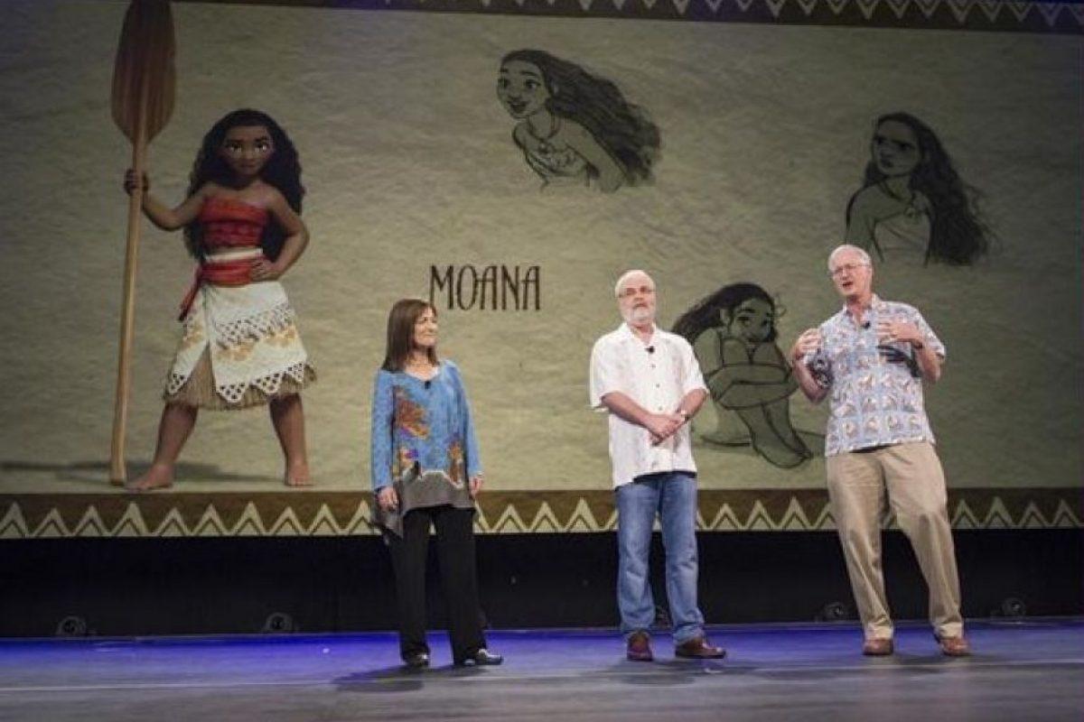 """""""Moana"""" es una historia ambientada hace unos 2 mil años, en el folclore de las tribus de los mares del sur del Océano Pacífico. Foto:Disney"""
