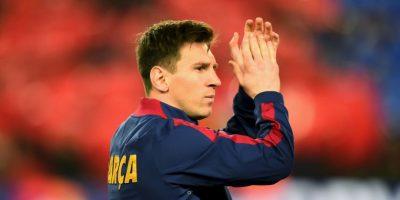 """La """"Pulga"""" tiene el Récord Guiness al ser el futbolista con más goles oficiales en un año (91), lo que consiguió en 2012. Foto:Getty Images"""