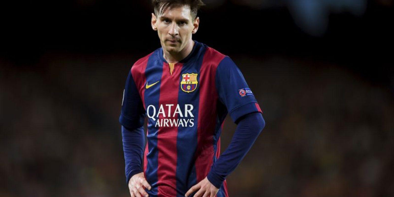 Máximo goleador del Barcelona en partidos oficiales: 415 goles. Foto:Getty Images
