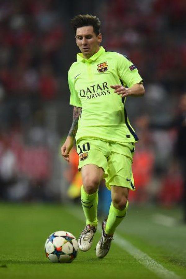 Máximo goleador histórico de la Liga BBVA: 286 goles. Foto:Getty Images